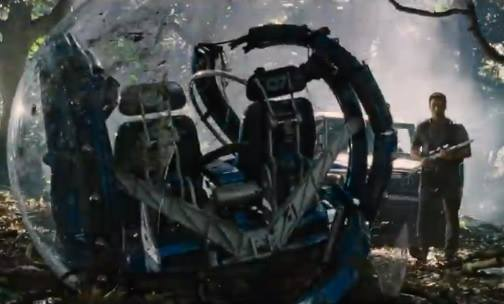 Jurassic World - Sneak peak at the Acrylic Domes