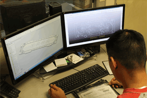 cnc routing in house programming